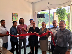 The October 2017 grand opening of Indie Brewing Company's Boyle Heights Tasting Room