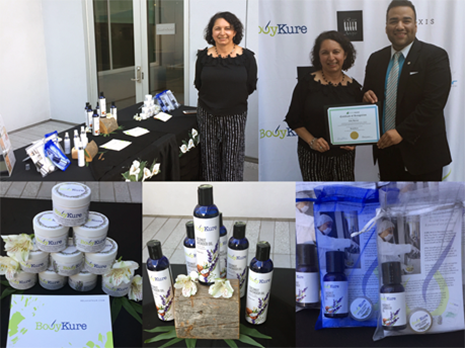The South Valley BSC helped KUR Mobile Massage & Spa founder Ada Batun expand her business and launch her BodyKure line of all natural products