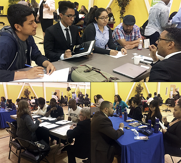 YouthSource program participants attended a Banking Opportunities Roundtable and learned about safe banking tools and healthy financial habits