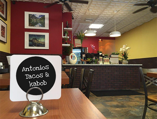 Antonio's Tacos & Kabab new Northridge location opened with help from the North Valley BSC