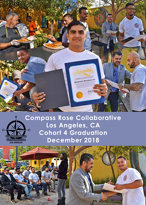 Compass Rose Collaborative, Los Angeles, Cohort 4 Graduation on December 18, 2018
