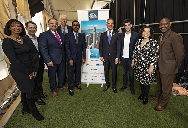 2019 City of Los Angeles Mayor's Small Business Summit Kick-Off Event on April 29, 2019, at Los Angeles Trade Technical College