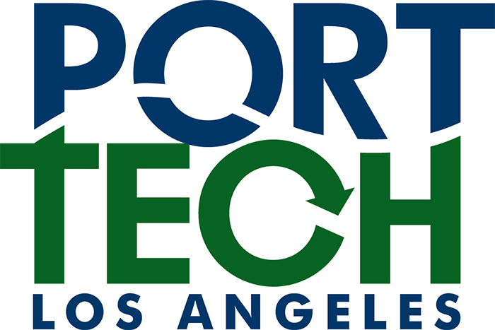 PortTechLA logo and website link