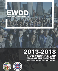 2018 EWDD Status report cover page