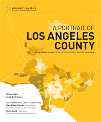 A Portrait of Los Angeles County report cover page