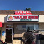Tamales House, the newly opened Reseda-based restaurant specializing in healthy and fresh Mexican food