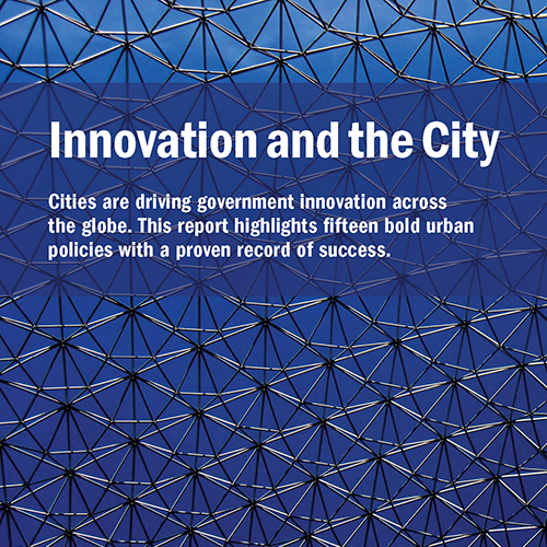 Innovation in the City report cover page