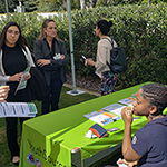 EWDD YouthSource table at the Getty House Women's History event on March 8, 2019